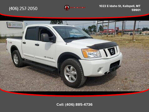 2012 Nissan Titan for sale at Auto Solutions in Kalispell MT