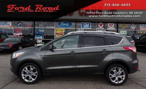 2015 Ford Escape for sale at Ford Road Motor Sales in Dearborn MI