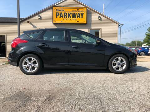 2014 Ford Focus for sale at Parkway Motors in Springfield IL