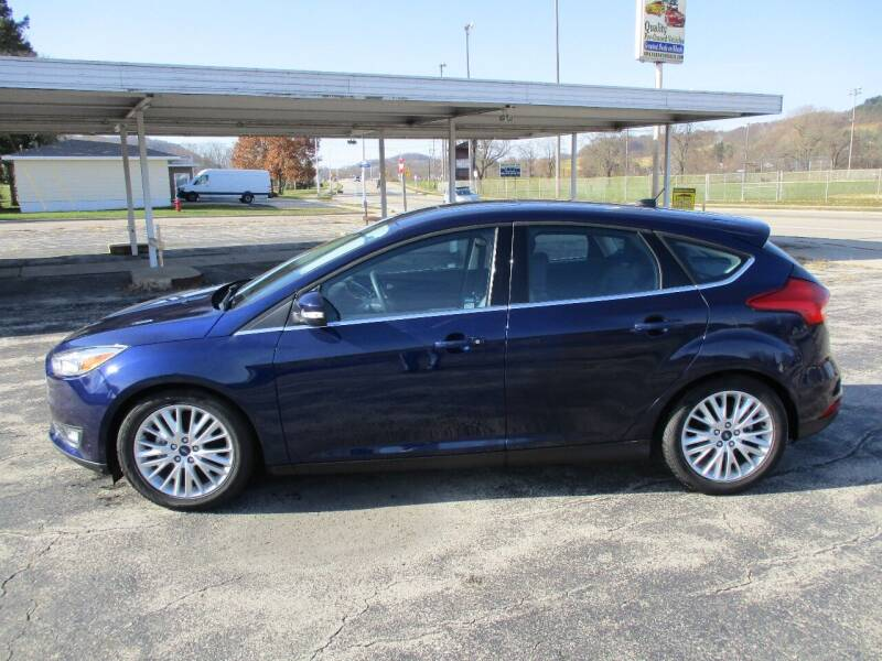 2016 Ford Focus for sale at G & W Car Sales in Richland Center WI