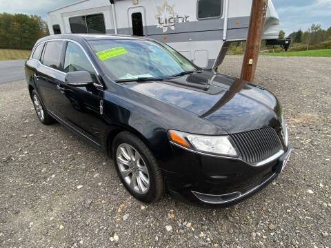 2013 Lincoln MKT for sale at ALL WHEELS DRIVEN in Wellsboro PA