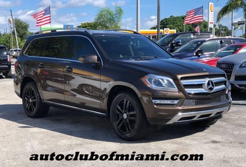 2013 Mercedes-Benz GL-Class for sale at AUTO CLUB OF MIAMI, INC in Miami FL