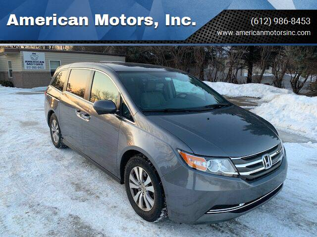 2014 Honda Odyssey for sale at American Motors, Inc. in Farmington MN