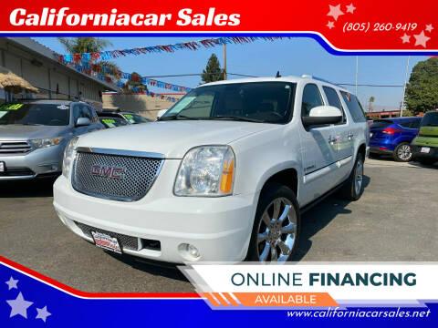 2007 GMC Yukon XL for sale at Californiacar Sales in Santa Maria CA