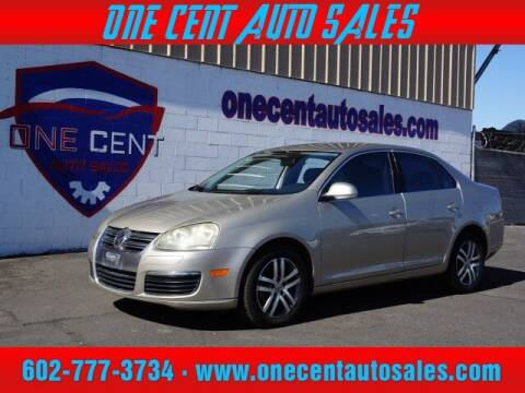 2006 Volkswagen Jetta for sale at One Cent Auto Sales in Glendale AZ