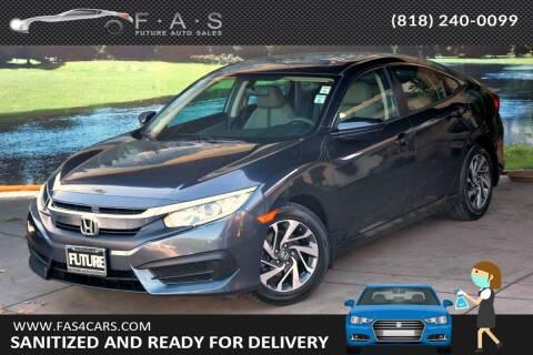 2016 Honda Civic for sale at Best Car Buy in Glendale CA