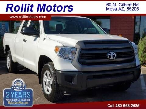 2015 Toyota Tundra for sale at Rollit Motors in Mesa AZ