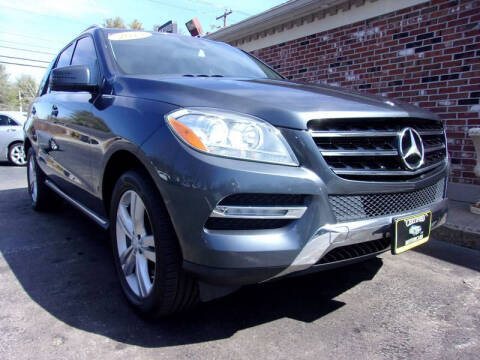 2013 Mercedes-Benz M-Class for sale at Certified Motorcars LLC in Franklin NH