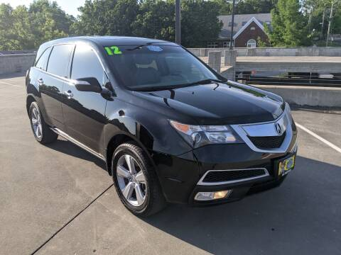 2012 Acura MDX for sale at QC Motors in Fayetteville AR