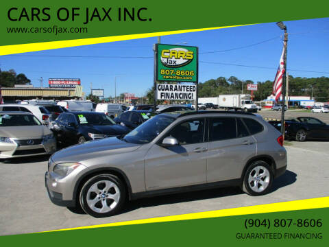 2014 BMW X1 for sale at CARS OF JAX INC. in Jacksonville FL