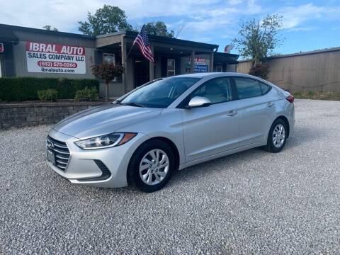 2017 Hyundai Elantra for sale at Ibral Auto in Milford OH