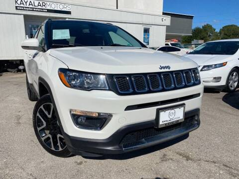 2018 Jeep Compass for sale at KAYALAR MOTORS in Houston TX