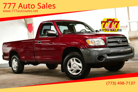 2004 Toyota Tundra for sale at 777 Auto Sales in Bedford Park IL