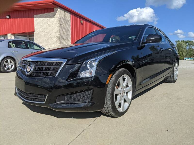 2013 Cadillac ATS for sale at Nationwide Auto Works in Medina OH