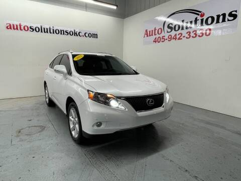 2011 Lexus RX 350 for sale at Auto Solutions in Warr Acres OK