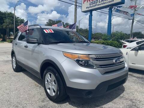 2013 Ford Explorer for sale at AUTO PROVIDER in Fort Lauderdale FL