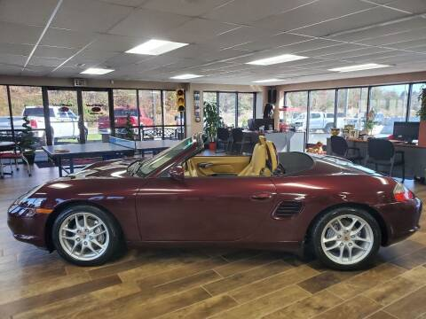 2004 Porsche Boxster for sale at AutoWorld of Lenoir in Lenoir NC