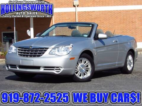 2008 Chrysler Sebring for sale at Hollingsworth Auto Sales in Raleigh NC