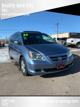 2007 Honda Odyssey for sale at Quality Auto City Inc. in Laramie WY