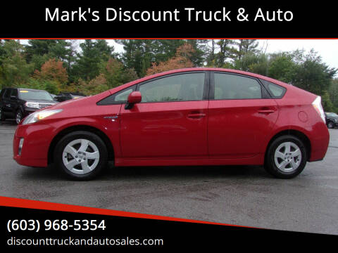 2010 Toyota Prius for sale at Mark's Discount Truck & Auto in Londonderry NH