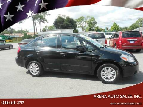 2012 Suzuki SX4 for sale at ARENA AUTO SALES,  INC. in Holly Hill FL