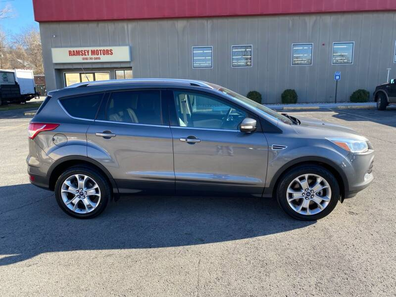 2014 Ford Escape for sale at Ramsey Motors in Riverside MO