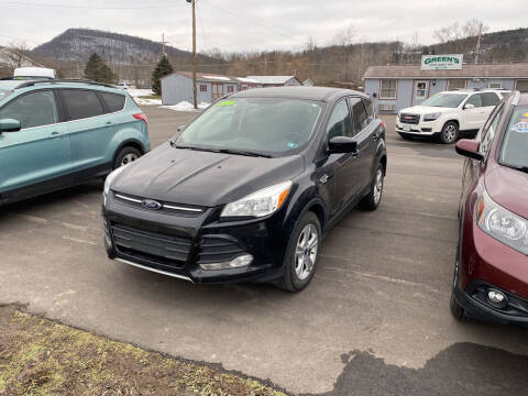 2015 Ford Escape for sale at Greens Auto Mart Inc. in Wysox PA