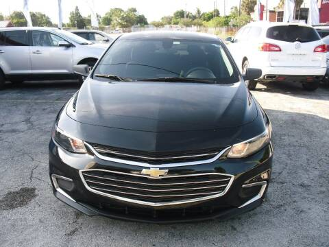 2017 Chevrolet Malibu for sale at SUPERAUTO AUTO SALES INC in Hialeah FL