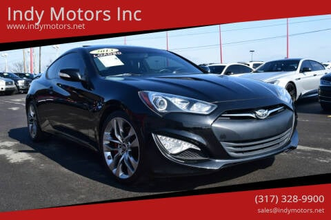 2013 Hyundai Genesis Coupe for sale at Indy Motors Inc in Indianapolis IN