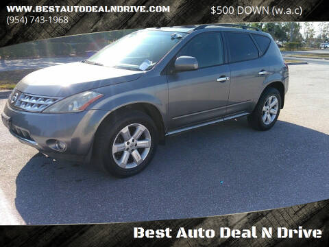 2007 Nissan Murano for sale at Best Auto Deal N Drive in Hollywood FL