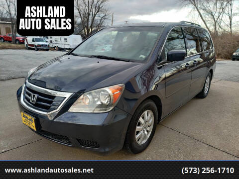 2008 Honda Odyssey for sale at ASHLAND AUTO SALES in Columbia MO