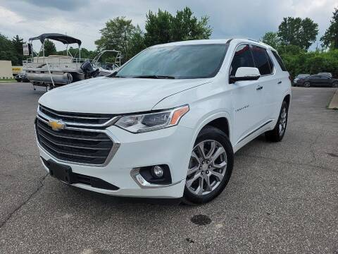 2018 Chevrolet Traverse for sale at Cruisin' Auto Sales in Madison IN
