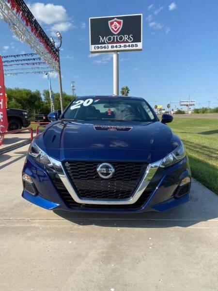 2020 Nissan Altima for sale at A & V MOTORS in Hidalgo TX