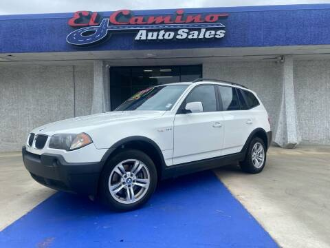 2004 BMW X3 for sale at el camino auto sales in Gainesville GA