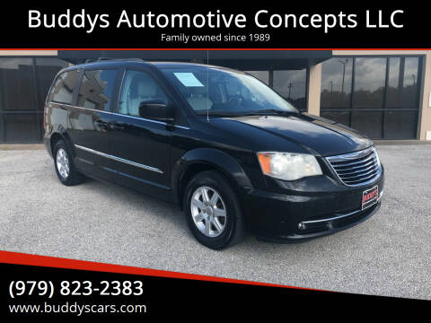 2013 Chrysler Town and Country for sale at Buddys Automotive Concepts LLC in Bryan TX