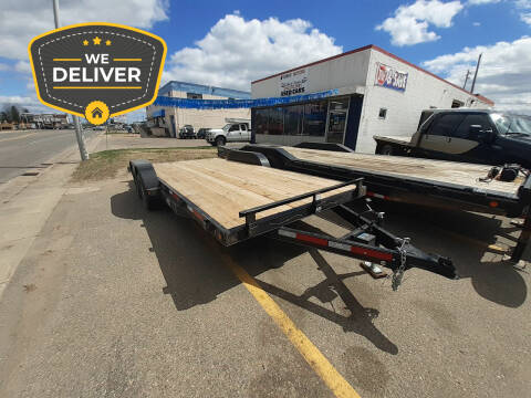 2022 ABU 18' CAR TRAILER for sale at Tower Motors in Brainerd MN