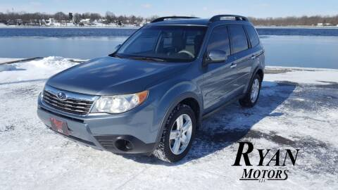 2009 Subaru Forester for sale at Ryan Motors LLC in Warsaw IN