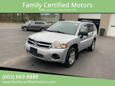2007 Mitsubishi Endeavor for sale at Family Certified Motors in Manchester NH