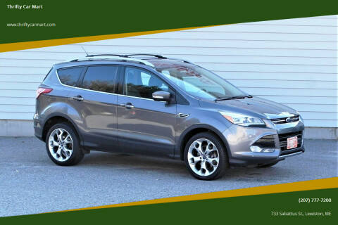 2013 Ford Escape for sale at Thrifty Car Mart in Lewiston ME