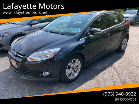 2012 Ford Focus for sale at Lafayette Motors in Lafayette NJ