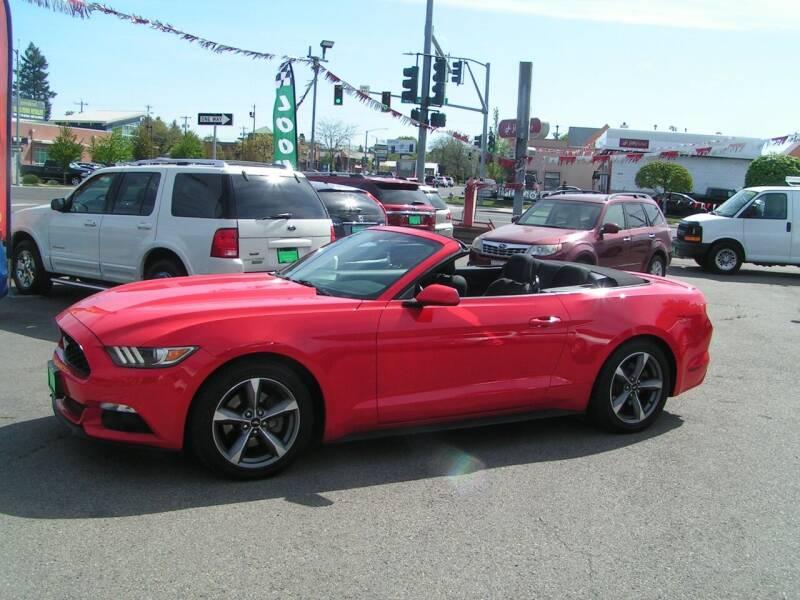 2015 Ford Mustang for sale at Common Sense Motors in Spokane WA
