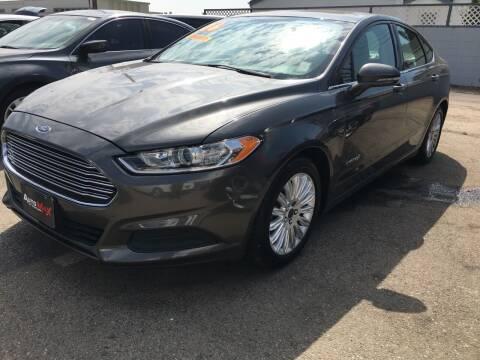 2016 Ford Fusion Hybrid for sale at Auto Max of Ventura in Ventura CA