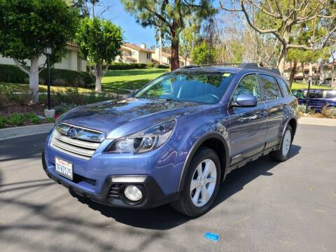 2014 Subaru Outback for sale at E MOTORCARS in Fullerton CA