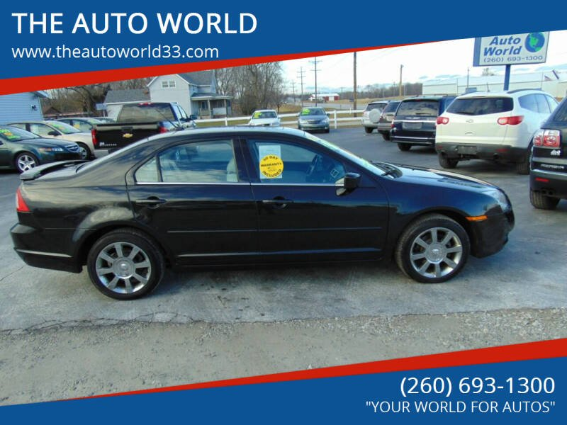 2009 Mercury Milan for sale at THE AUTO WORLD in Churubusco IN