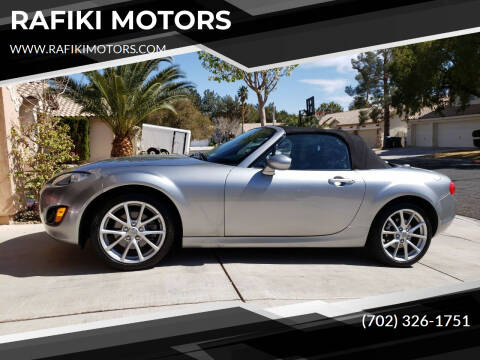 2010 Mazda MX-5 Miata for sale at RAFIKI MOTORS in Henderson NV