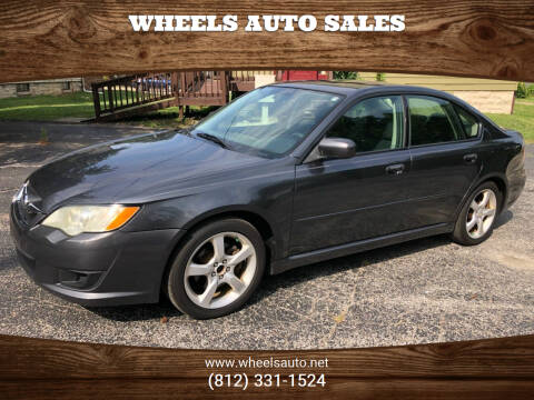 2009 Subaru Legacy for sale at Wheels Auto Sales in Bloomington IN