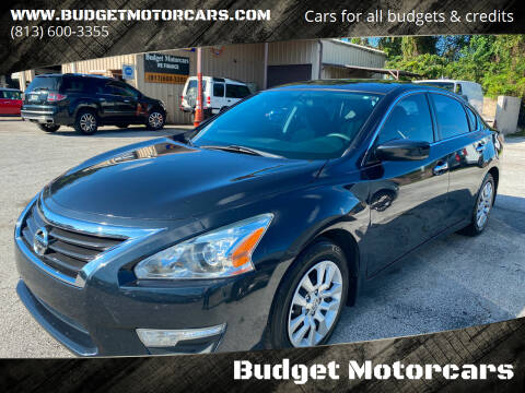 2015 Nissan Altima for sale at Budget Motorcars in Tampa FL