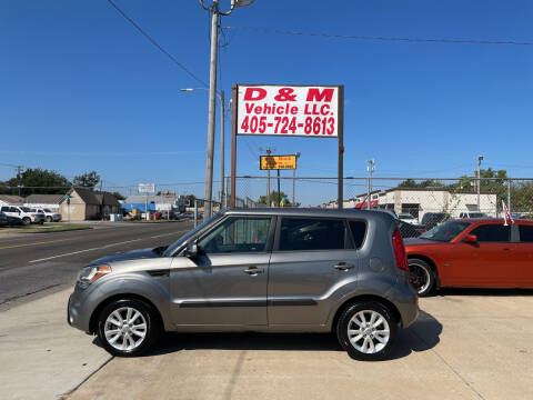 2012 Kia Soul for sale at D & M Vehicle LLC in Oklahoma City OK