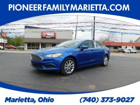 2017 Ford Fusion for sale at Pioneer Family preowned autos in Williamstown WV