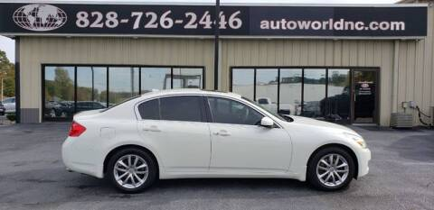 2008 Infiniti G35 for sale at AutoWorld of Lenoir in Lenoir NC